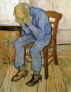 Vincent van Gogh - Old Man in Sorrow (On the Threshold of Eternity). 1890